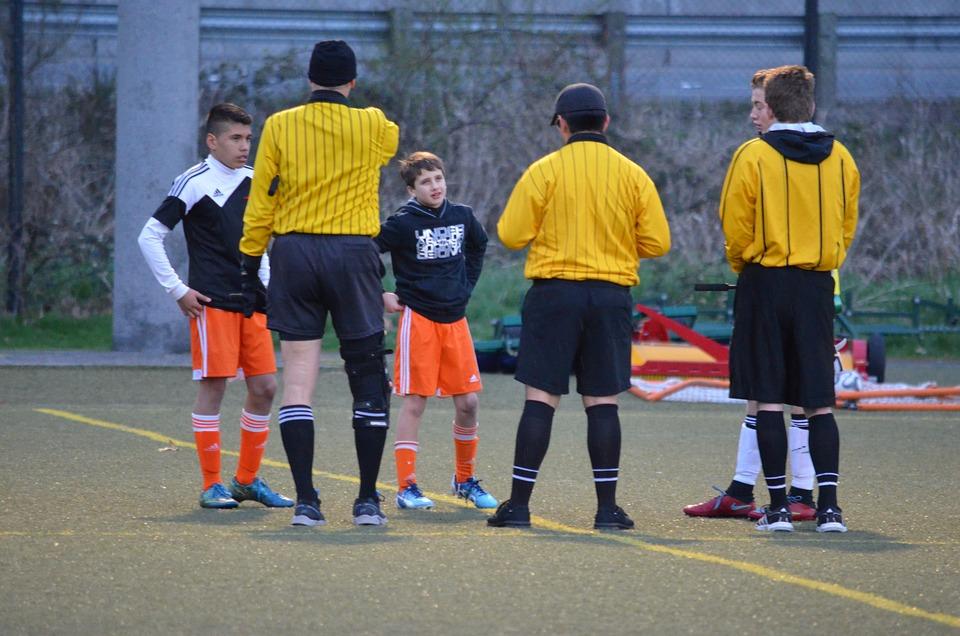 Soccer, Referees, Sport, Match, Game, Arbiter, Athlete