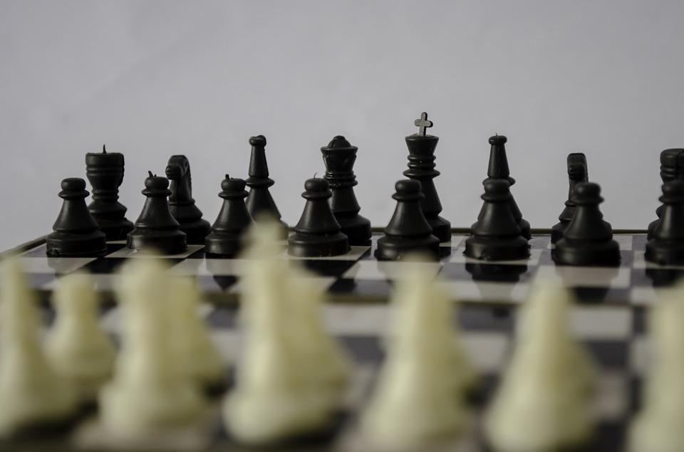 Chess, Chess Board, Strategy, Game, Black, White