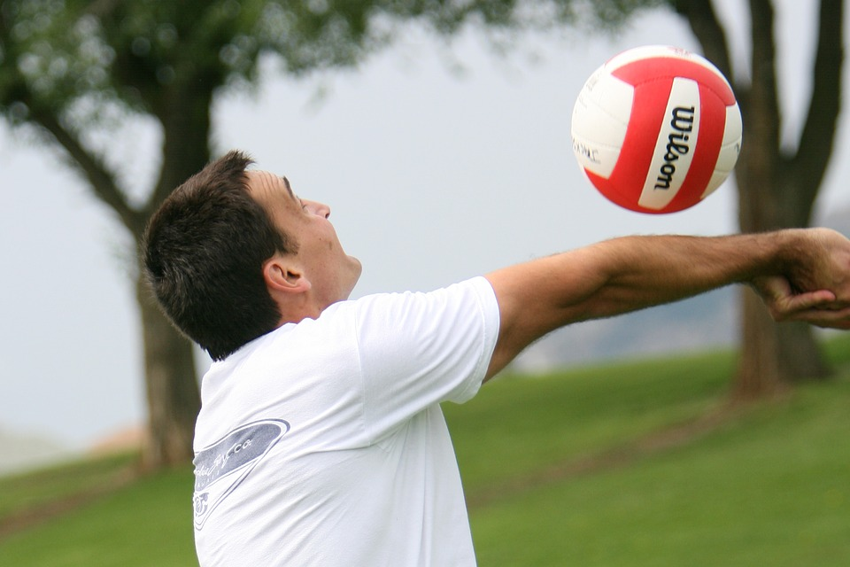 Volleyball, Sport, Hit, Men's Volleyball, Game