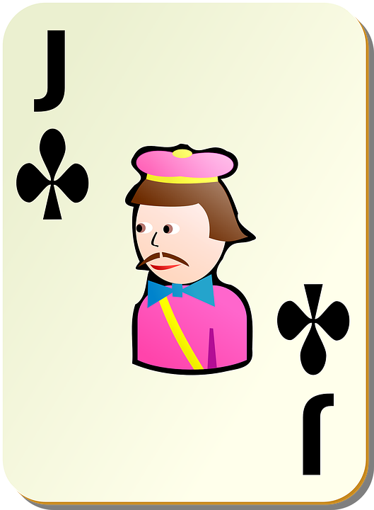 Clubs, Jack, Playing Cards, Games, Cards, Recreation