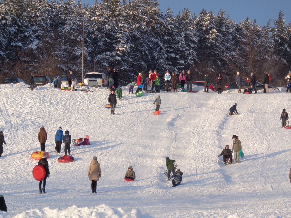 Snow, Winter, Games, Kids, Entertainment, Frost