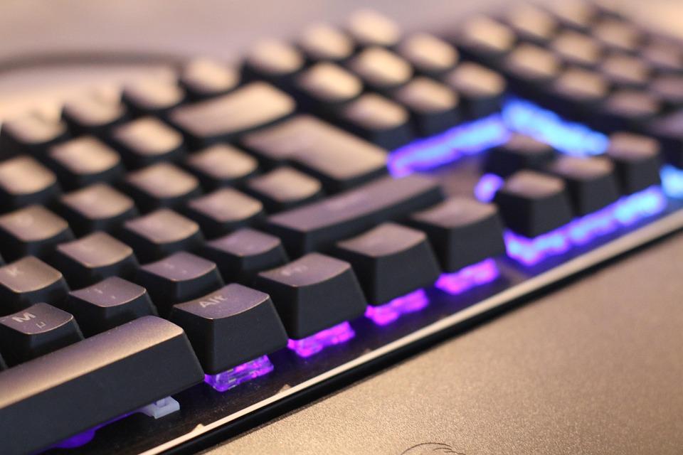 Keyboard, Led, Gaming, Illuminated, Keys