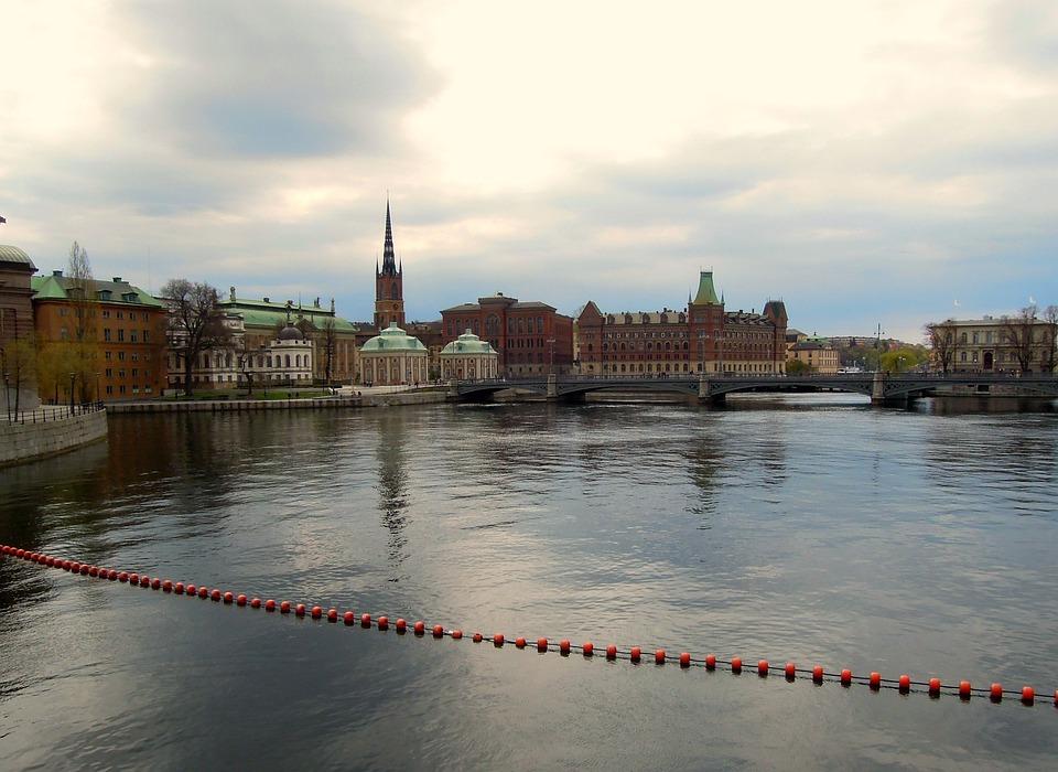 Stockholm, Gamla Stan, Old Town, The Urban Landscape