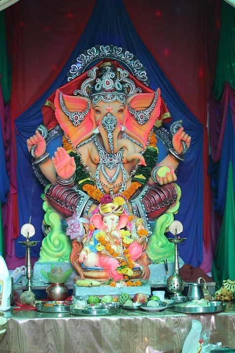 Ganesha, Mumbai, Festival, Idol, Hindu, India