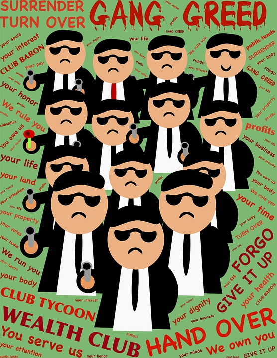 Gang, Club, Greed, Barons, Tycoons, Rich, Wealthy