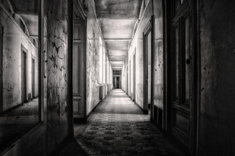 Gang, Gloomy, Floor, Atmosphere, Dark, Pforphoto, Fear