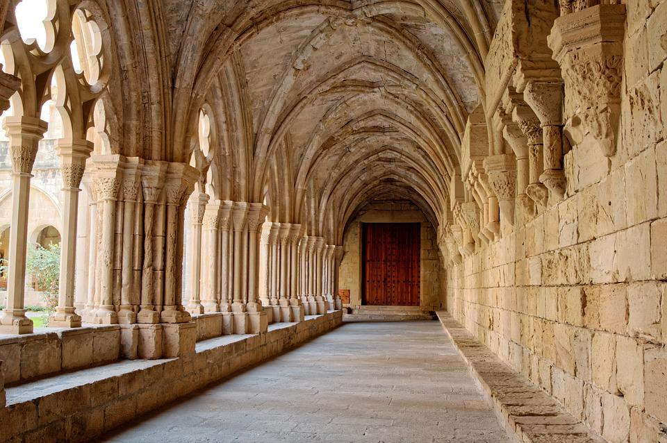 Catalonia, Spain, Romanesque, Monastery, Gang