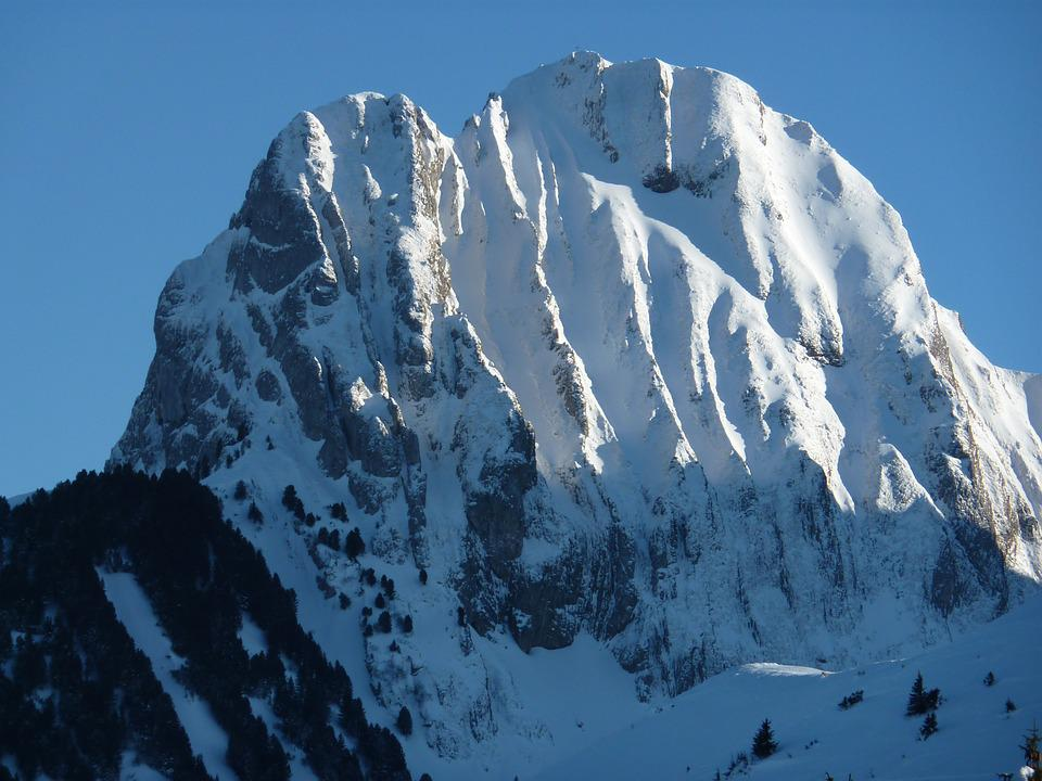 Mountain, Snow, Gantrisch Massif, Switzerland