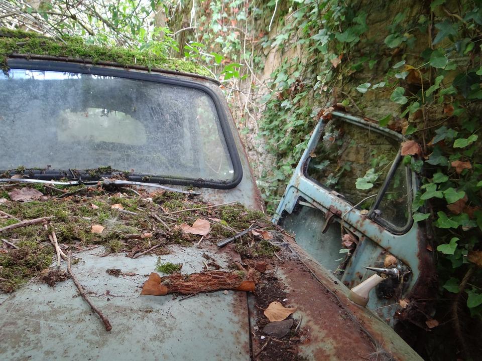 Oldtimer, Garage Fund, Auto, Old, Classic