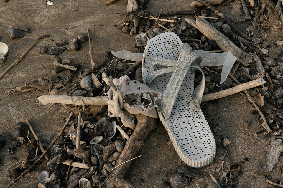 Plastic Waste, Flotsam, Garbage, Pollution