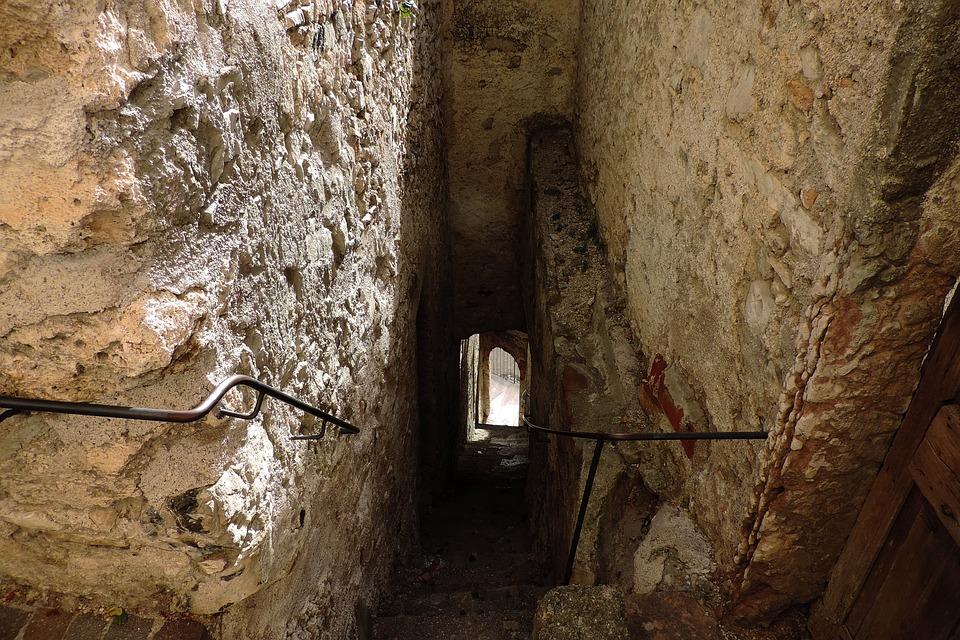 Limone, Garda, Old, Wall