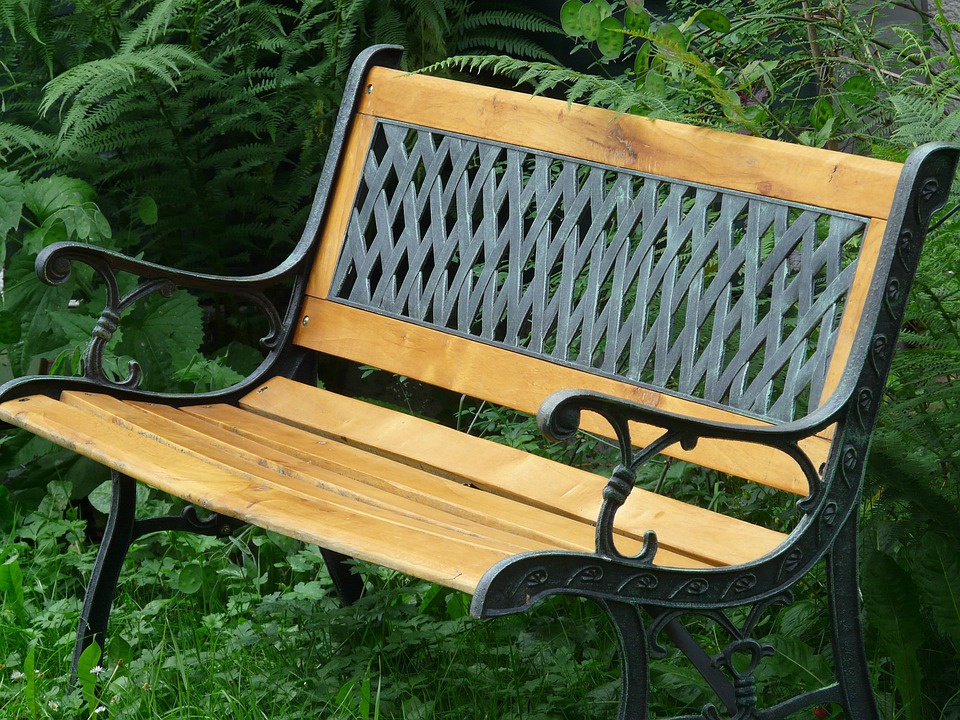 Bank, Garden Bench, Sit, Space, Seat, Garden, Wood