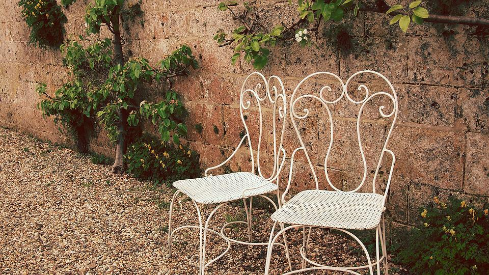 Chairs, Garden Set, Classic Chairs, Garden, Castle