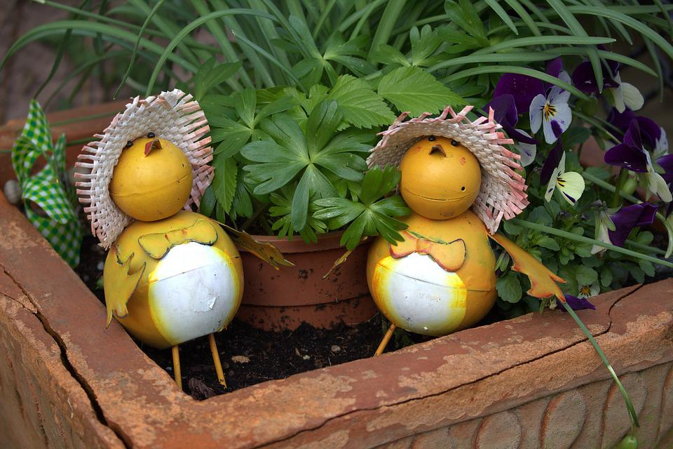 Garden, Decoration, Easter, Funny, Garden Decoration