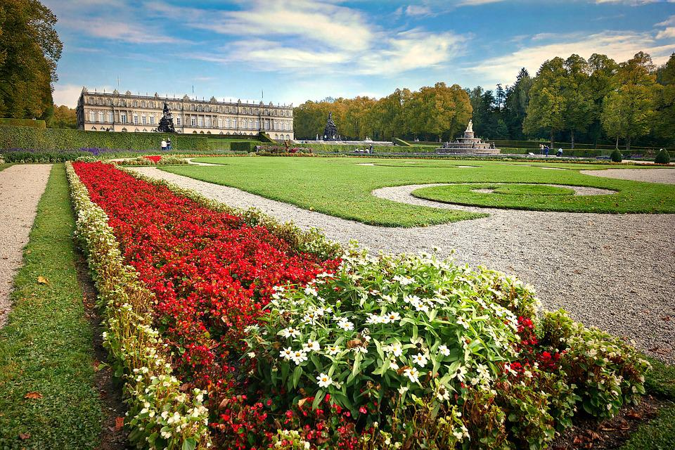 Flower, Garden, Rush, Landscape, Grass, Park