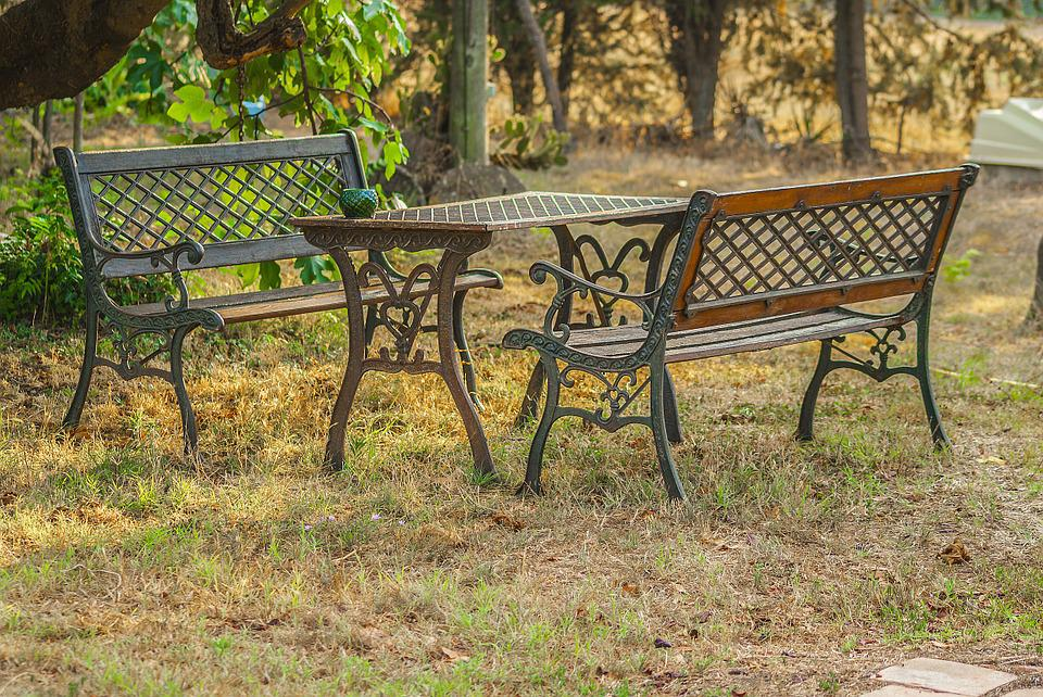 Garden Furniture Cast Iron Free photo garden furniture table and benches cast iron max pixel table and benches garden furniture cast iron workwithnaturefo