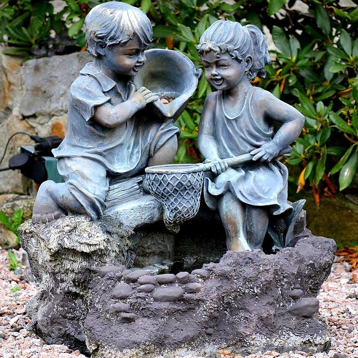 Garden, Figures, Stone, Decoration, Garden Figurines