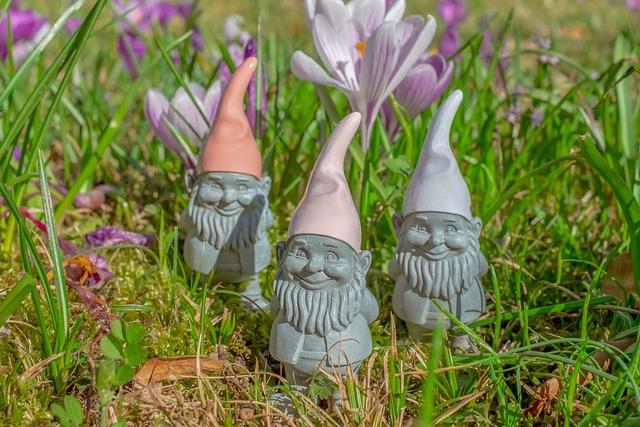 Imp, Spring Imp, Figure, Garden Gnome, Dwarf, Are