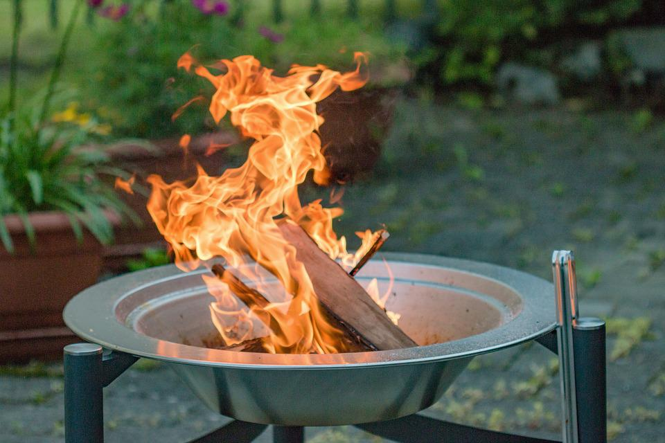 Fire, Grill, Garden Grill, Burn, Heiss, Embers, Heat
