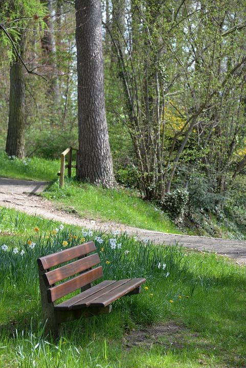 Bank, Park Bench, Garden, Garden Bench, Rest, Recovery