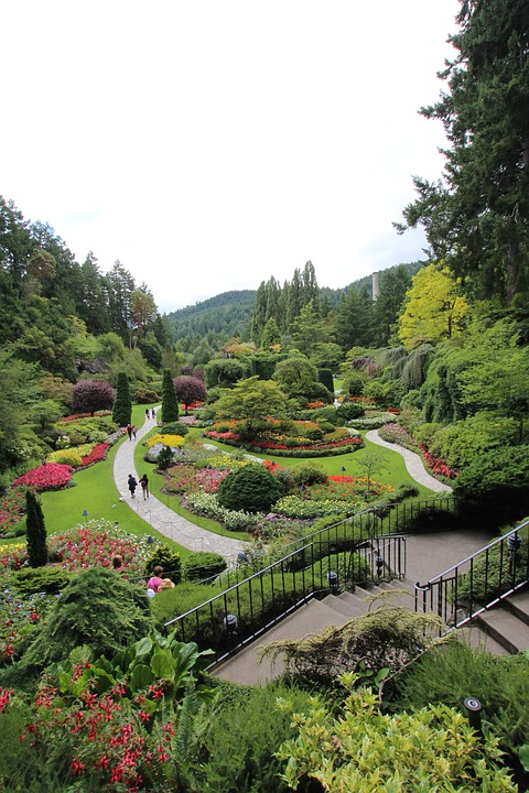 Garden, Landscape, Nature, Scenery, Canada