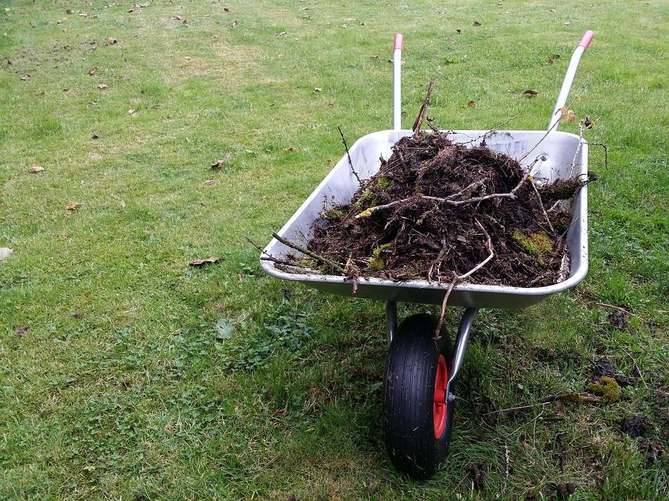 Wheelbarrow, Gardening, Garden, Garden Tools