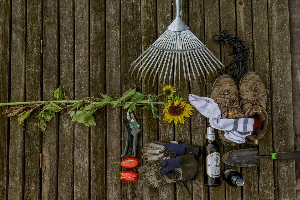 Garden, Collection, Still Life, Utensils, Gardening