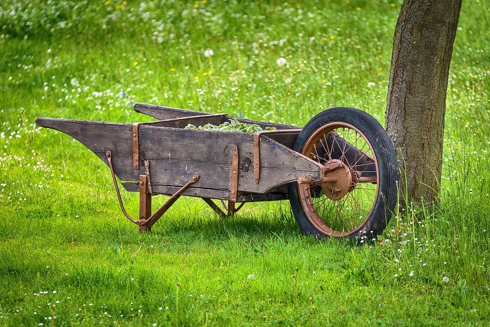 Cart, Garden, Tool, Sliding Barrow, Work