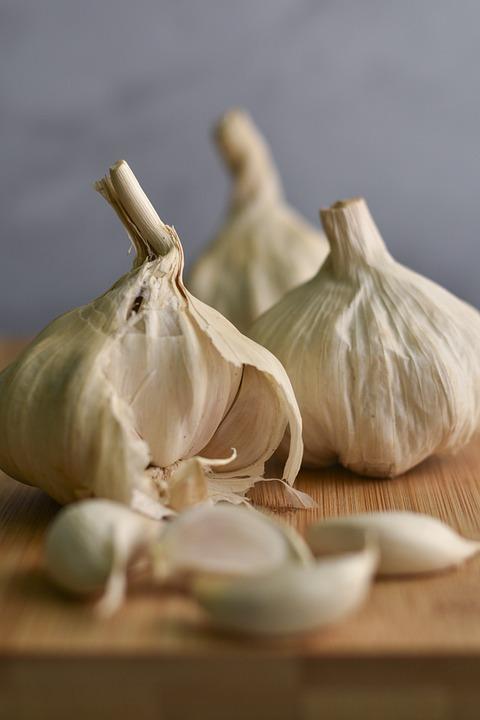 Garlic, Garlic Clove, Spice, Ingredient, Vegetable