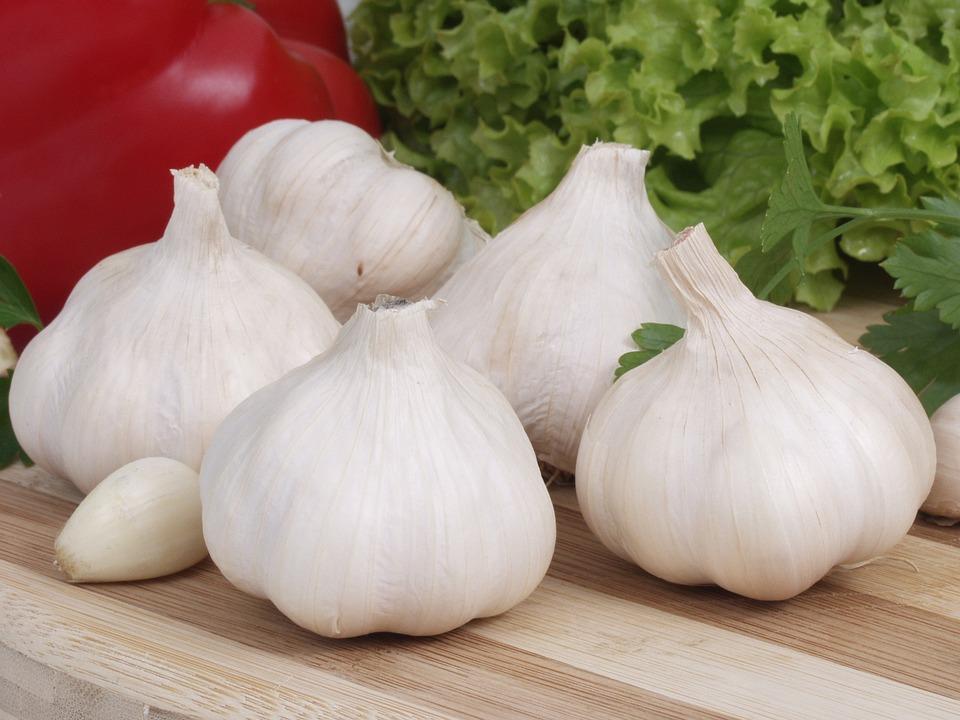 Garlic, White, Head, Cloves, Garlic Główkowaty, Food