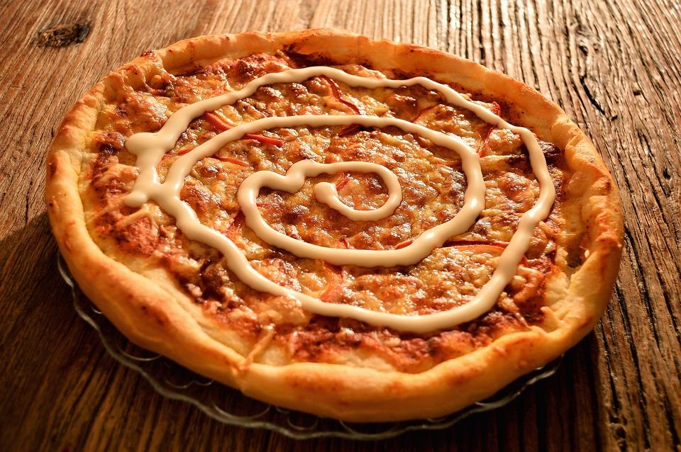 Pizza, At Home, Indoor, Vegetarian, Kebab, Garlic