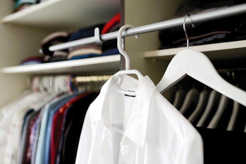 Wardrobe, Coat Hanger, Dressing Room, Garment Racks