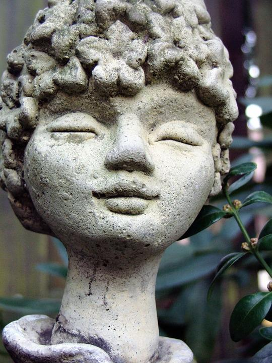 Garden, Garden Figurines, Stone Figure, Gartendeko, Elf