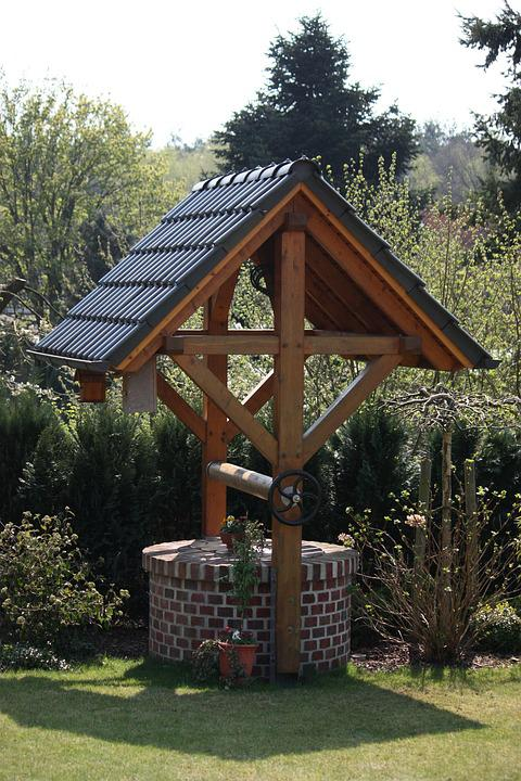 Fountain, Garden Design, Garden, Gartendeko, Stone