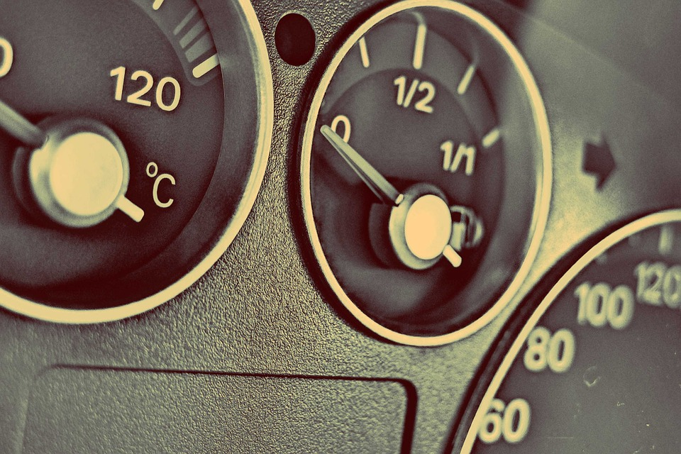 Car, Dashboard, Gauges, Interior, Automotive, Fuel, Gas