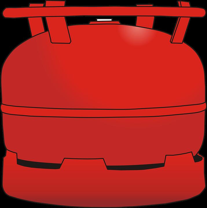Cartridge, Gas Container, Gas Bottle, Bottle, Tank