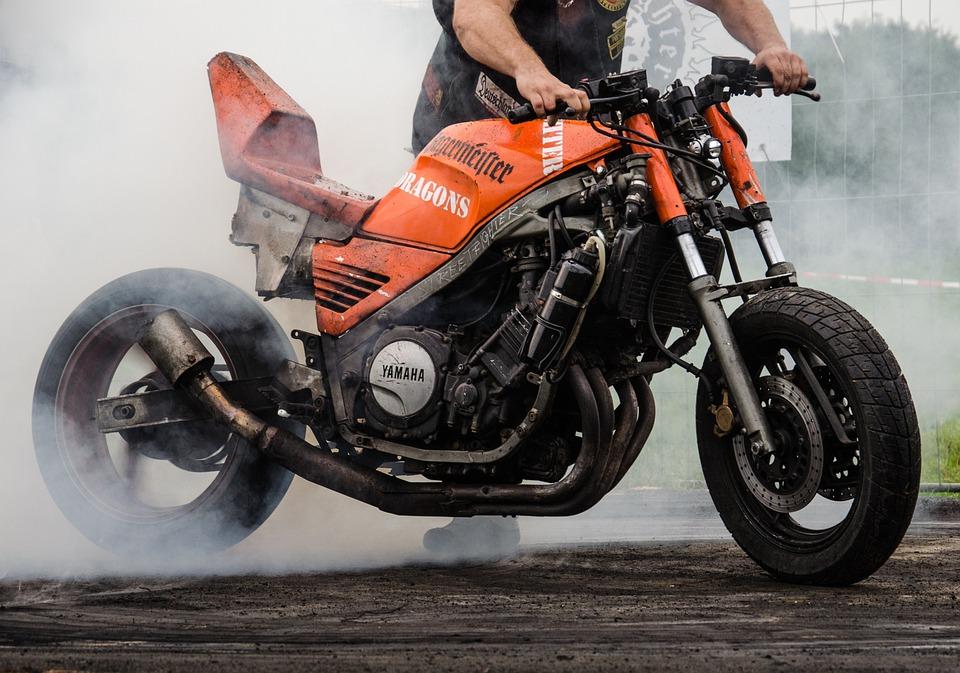 Motorcycle, Gas, Speed, Vehicle, Steel, Exit, Motor