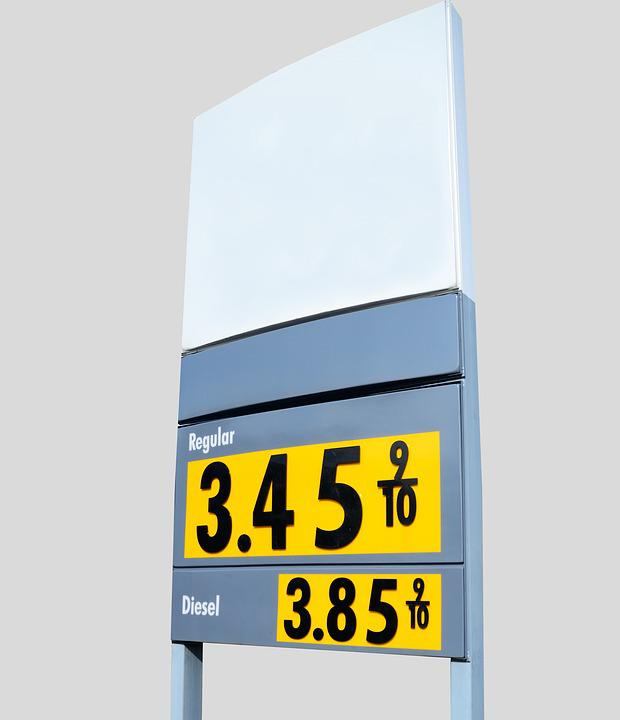 Gas Price, Sign, Fuel, Fuel Pump, Gas, Gasoline, Oil
