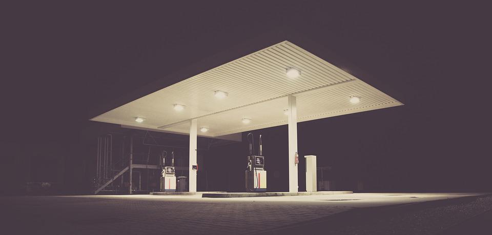 Filling Station, Gas, Gas Station, Gasoline Station