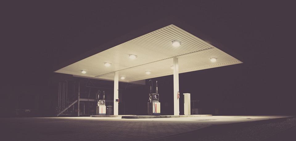 Filling Station, Gas, Gas Station, Gasoline Station