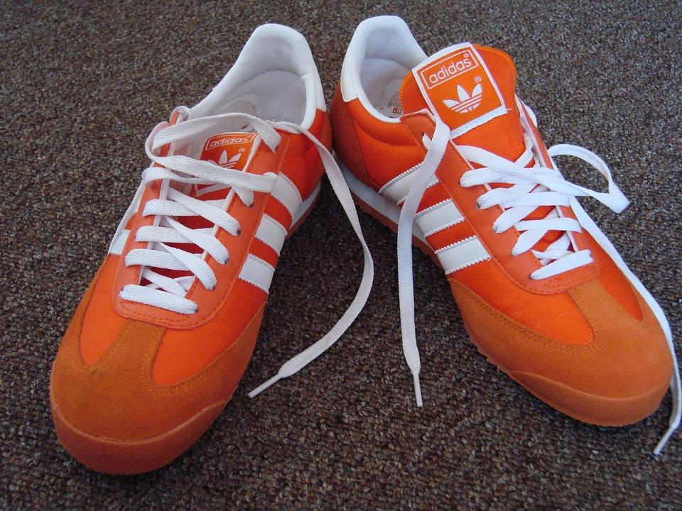 Shoes, Adidas, Gasele, Orange
