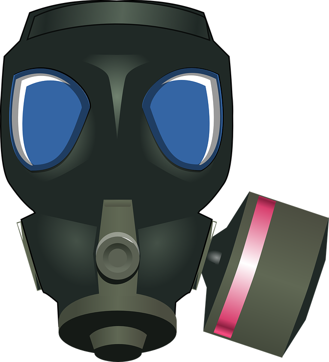 Gasmask, Respirator, War, Military, Mask, Gas, Poison