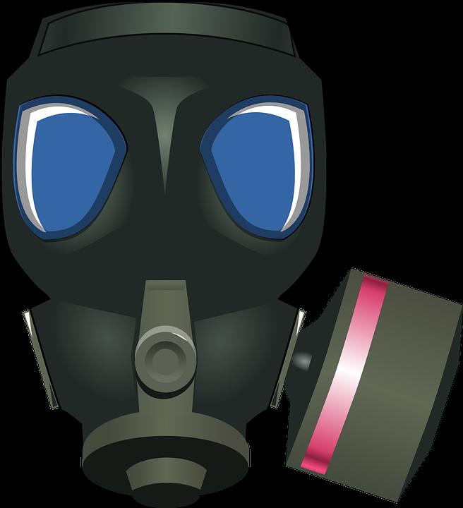 Gasmask, Respirator, War, Military, Mask, Gas, Poison