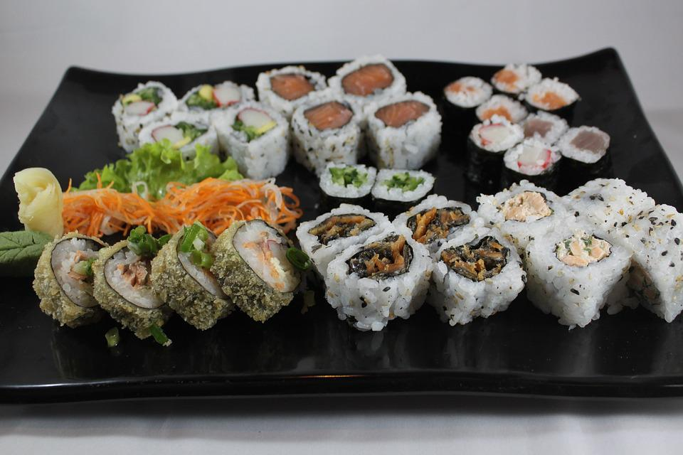 Sushi, Combined, Food, Japanese, Gastronomy