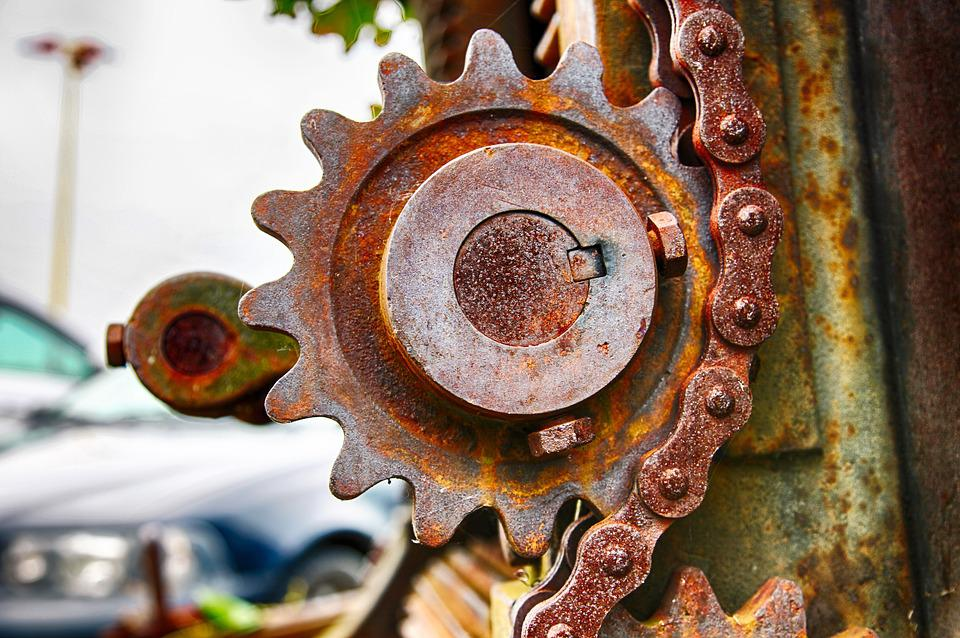 Gate, Iron Wheel Of Authority, Serrated, Tooth