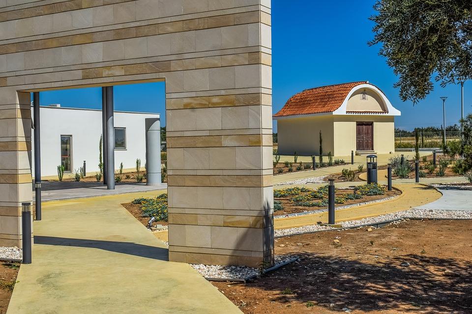 Architecture, Church, Museum, Gate, Building, Mazotos