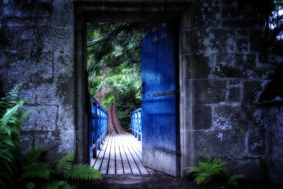 Goal, Door, Input, Old, Gate, Shadow, Old Door, Open