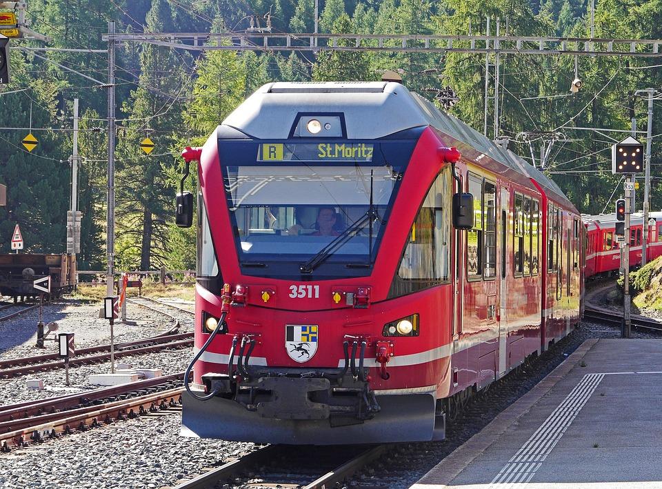 Bernina Railway, Pontresina, Railway Station, Gateway