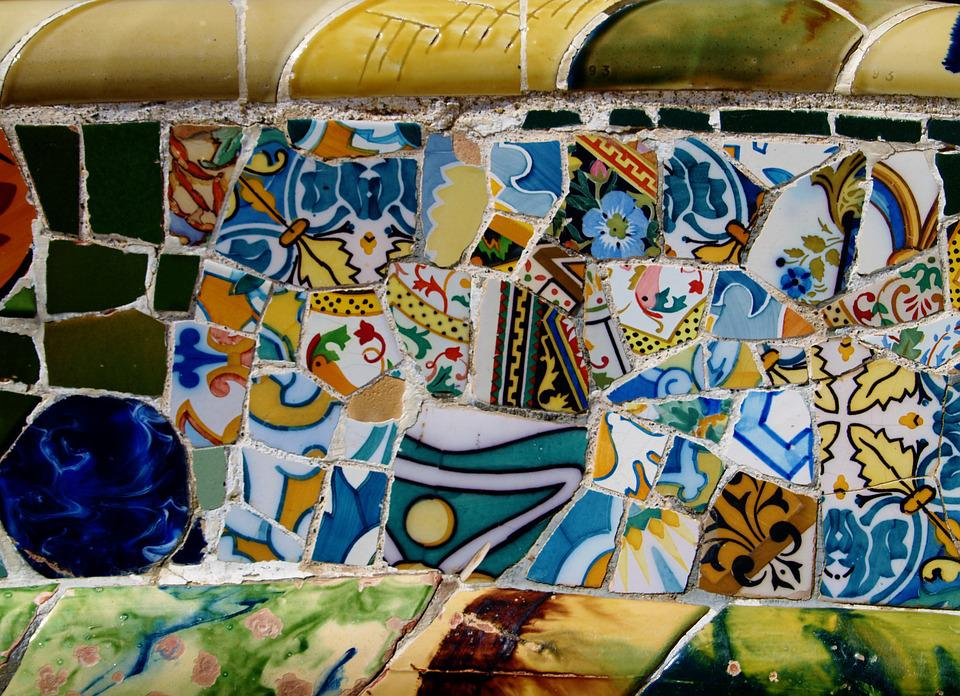 Park, Guell, Gaudi, Europe, Architecture, Spain