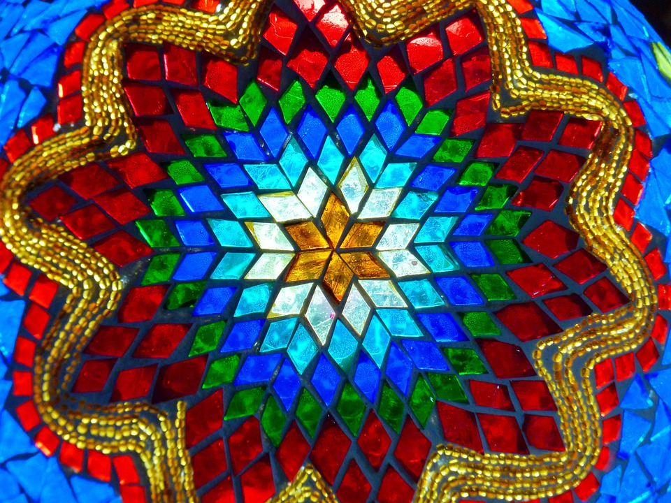 Glass, Colorful, Glass Mosaic, Color, Gaudy, Mosaic